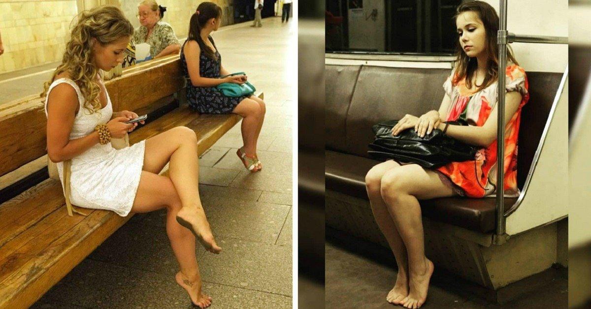 Почему всё больше и больше босых людей появляется в метро, ресторанах и парках